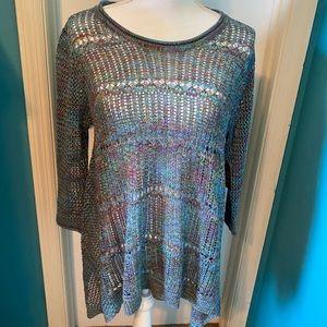 Faded glory long sleeve knit sweater